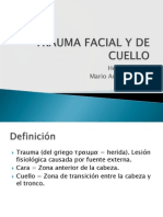Trauma Facial y de Cuello Final