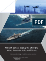 A New US Defense Strategy for a New Era