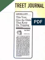 Wall Street Journal Review