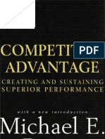 Competitive Advantage - Creating and Sustaining Superior Performance (Michael Porter) [1985]