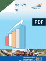 Annual Report 2011 PT KAI