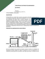 Procesos Industriales de Productos Inorganicos