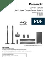 Panasonic Home Theater Sound SCBTT570