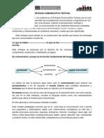 Enfoque Comunicativo Textual[1]