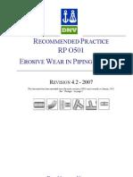 Erosion DNV Rp-o501