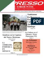 Expresso de Oriente 29 de Julio Del 2013
