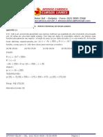 PCMG - PROVA DE MATEMÁTICA - TIPO A - RESOLUÇÃO