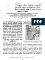 Thirty Years of Evolution of the Sedrun Landslide (Swisserland) from Multitemporal Orthorectified Aerial Images, Differential Digital Terrain Models and Field Data
