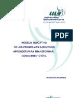 Modelo Educativo Ula 2010