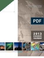 NExT 2013 Oil Gas Training Calendar
