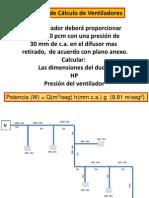 Ejemplo de Cálculo de Ventiladores