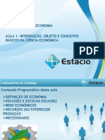 Aula_01 Fundamentos Da Economia