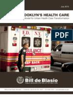 Saving Brooklyn's Health Care