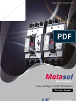 Metasol MCCB-ELCB Technical+Manual E