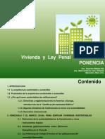 PONENCIA. VIVIENDA Y Ley PENAL DEL AMBIENTE. María Andreina Leal y Eduardo Pineda Paz. 2012