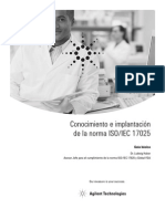 Conocimiento e implantación  ISO 17025