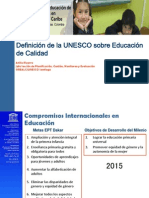Atilio Pizarro Quality of Education Esp