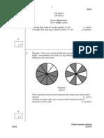Soalan Matematik Kertas 2 Lipis