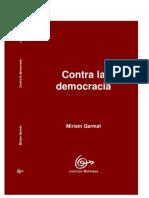 Contra la democracia, Miriam Qarmat.pdf