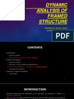 Dynamic Analysis of Framed Structure_R