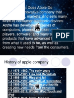 Apple Project Presentation By