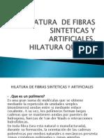 HILATURA QUIMICA