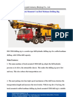 800 Type Truck Mounted CBM Drilling Rig