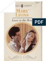 Mary Lyons - Love is the Key