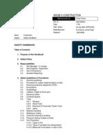 Annexure 11 - Safety Handbook