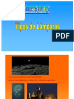 Tipos de Lamparas Artificiales