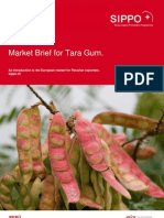 Market Brief Tara Gum Final