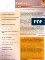 CINI Newsletter April-June 2013