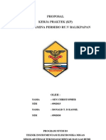 Proposal Kp Ronal Pertamina