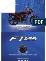 Manual Italika Ft125sport