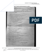 Biochem 4th Fourth Shifting Exam Set a b 2009