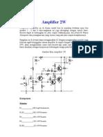 Amplifier 2W