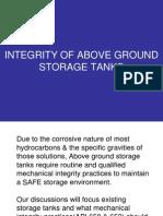Above Ground Storage Tanks Presentation