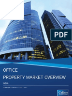 India Office Property Market Overview July 2013