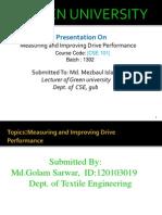 Measuring&Improving Drive Performance