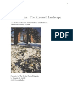 Living Ruins the Rosewell Landscape