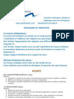 Catalogue Formations LOGIDOUANES