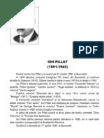 Ion Pillat Biografie