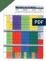 rff timetable