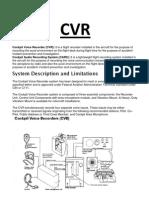 CVR notes
