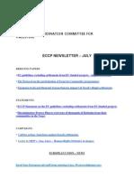 ECCP Newsletter - July