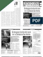 Versión impresa del periódico El mexiquense  29 julio 2013