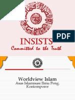 Worldview asas Islamisasi