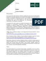 Historia Antigua. Instrucciones PEC