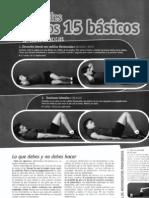 Abdominales ~ Los 15 básicos