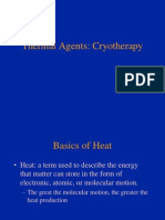 Cryo Therapy Lecture